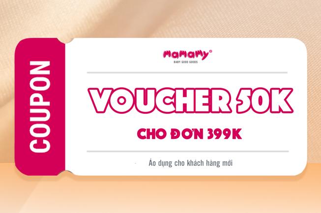 Giảm 50K đơn hàng 459K cho KH mới